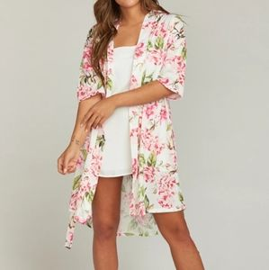 Show me your Mumu Brie Floral Robe